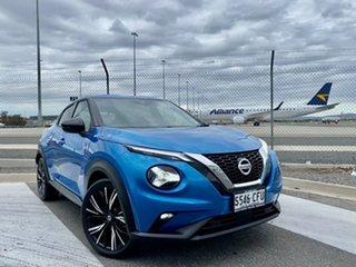 2020 Nissan Juke F16 Ti DCT 2WD Vivid Blue 7 Speed Sports Automatic Dual Clutch Hatchback.