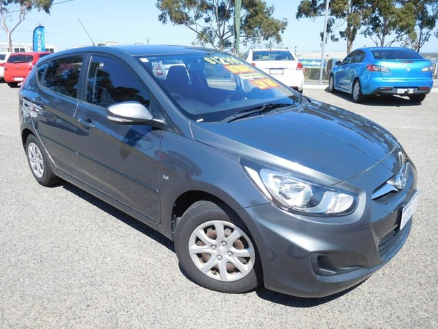 Used Hyundai Accent RB Active Wangara, 2012 Hyundai Accent RB Active Grey 4 Speed Sports Automatic Hatchback