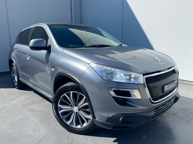 Used Peugeot 4008 MY12 Active 4WD Liverpool, 2012 Peugeot 4008 MY12 Active 4WD Grey 6 Speed Constant Variable Wagon