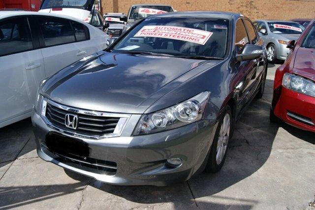 Used Honda Accord 50 V6 Luxury Blair Athol, 2008 Honda Accord 50 V6 Luxury Grey 5 Speed Automatic Sedan