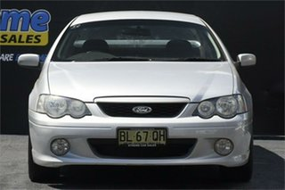 2005 Ford Falcon BA Mk II XR6 Ute Super Cab Silver 4 Speed Sports Automatic Utility.