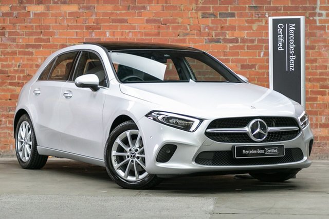 Certified Pre-Owned Mercedes-Benz A-Class W177 801+051MY A180 DCT Mulgrave, 2021 Mercedes-Benz A-Class W177 801+051MY A180 DCT Iridium Silver 7 Speed