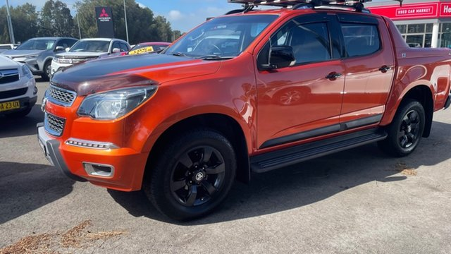 Used Holden Colorado RG MY16 Z71 Crew Cab Maitland, 2016 Holden Colorado RG MY16 Z71 Crew Cab Orange Rock 6 Speed Sports Automatic Utility