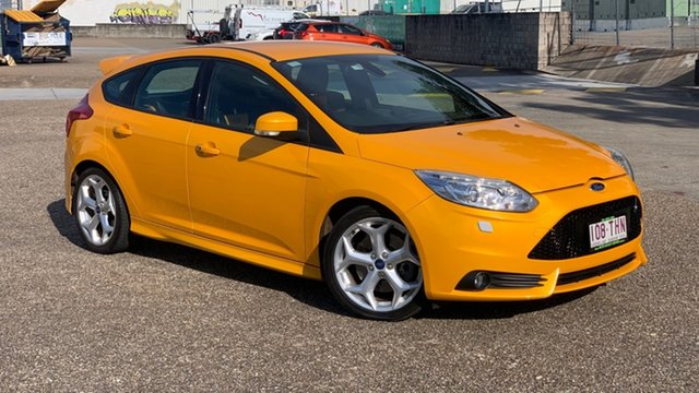Used Ford Focus LW MK2 ST Underwood, 2012 Ford Focus LW MK2 ST Yellow 6 Speed Manual Hatchback