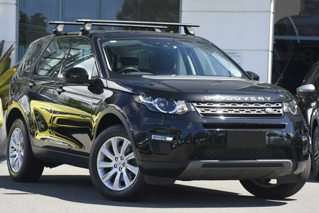Used Land Rover Discovery Sport L550 16MY Si4 SE Sutherland, 2015 Land Rover Discovery Sport L550 16MY Si4 SE Black 9 Speed Sports Automatic Wagon