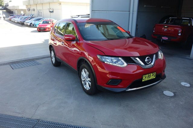 Used Nissan X-Trail T32 ST X-tronic 4WD East Maitland, 2016 Nissan X-Trail T32 ST X-tronic 4WD Red 7 Speed Constant Variable Wagon