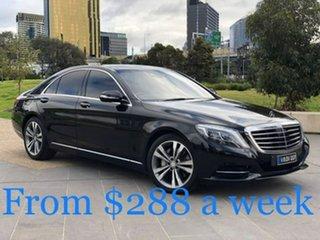 2014 Mercedes-Benz S-Class W222 S350 BlueTEC 7G-Tronic + Black 7 Speed Sports Automatic Sedan.