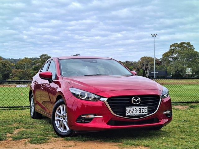 Used Mazda 3 BN5278 Maxx SKYACTIV-Drive Sport St Marys, 2018 Mazda 3 BN5278 Maxx SKYACTIV-Drive Sport Red 6 Speed Sports Automatic Sedan