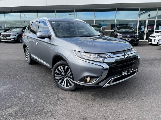 Used Mitsubishi Outlander ZL MY20 LS 2WD Essendon Fields, 2020 Mitsubishi Outlander ZL MY20 LS 2WD Grey 6 Speed Constant Variable Wagon