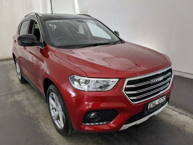 Used Haval H2 Lux 2WD Maryville, 2021 Haval H2 Lux 2WD Red 6 Speed Sports Automatic Wagon
