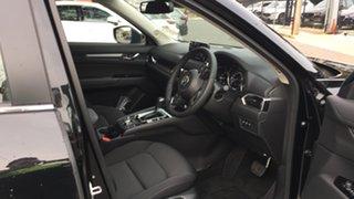 2021 Mazda CX-5 KF2W7A Maxx SKYACTIV-Drive FWD Sport Jet Black 6 Speed Sports Automatic Wagon