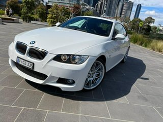 2008 BMW 3 Series E92 MY08 335i Steptronic White 6 Speed Sports Automatic Coupe.