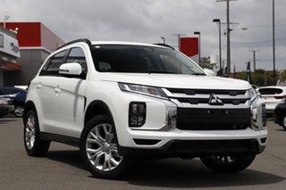 2021 Mitsubishi ASX XD MY21 ES Plus 2WD White 1 Speed Constant Variable Wagon.