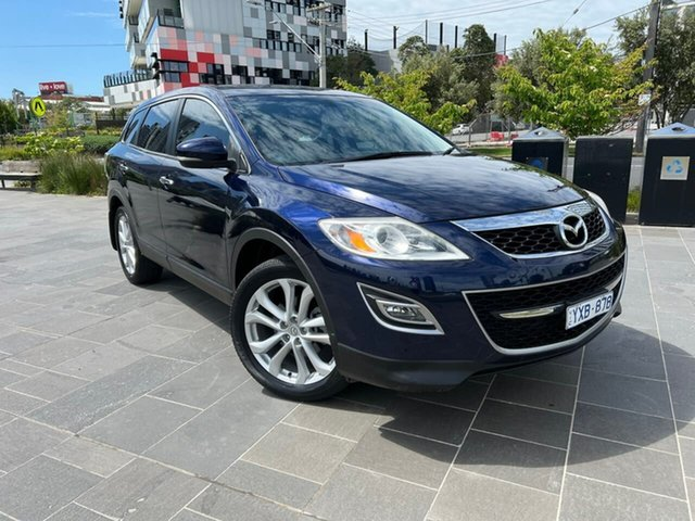 Used Mazda CX-9 TB10A4 MY12 Luxury South Melbourne, 2012 Mazda CX-9 TB10A4 MY12 Luxury Blue 6 Speed Sports Automatic Wagon