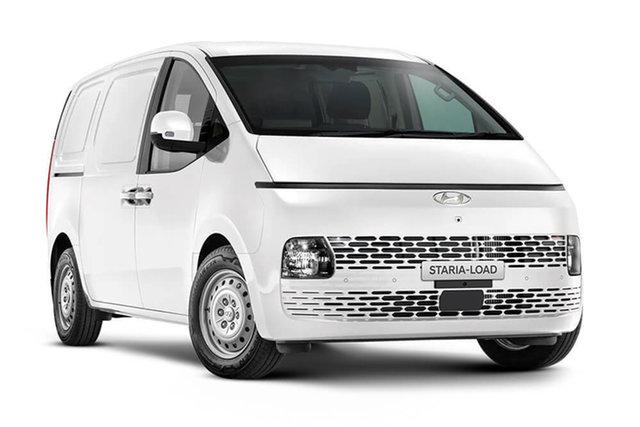 New Hyundai Staria Load Cardiff, 2021 Hyundai Staria Load US4.V1 Van Creamy White 8 Speed Automatic Van