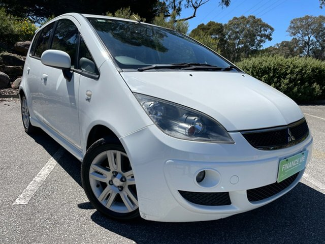 Used Mitsubishi Colt RG MY07 LS Totness, 2007 Mitsubishi Colt RG MY07 LS White 1 Speed Constant Variable Hatchback