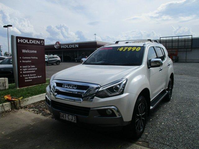 Used Isuzu MU-X MY18 LS-T Rev-Tronic 4x2 North Rockhampton, 2018 Isuzu MU-X MY18 LS-T Rev-Tronic 4x2 Pearl White 6 Speed Sports Automatic Wagon