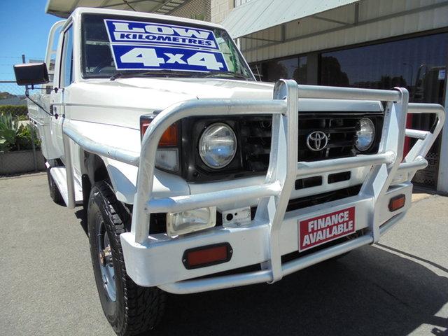 Used Toyota Landcruiser HZJ79R Edwardstown, 2002 Toyota Landcruiser HZJ79R White 5 Speed Manual Cab Chassis