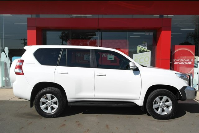 Used Toyota Landcruiser Prado GDJ150R GXL Swan Hill, 2015 Toyota Landcruiser Prado GDJ150R GXL White 6 Speed Sports Automatic Wagon