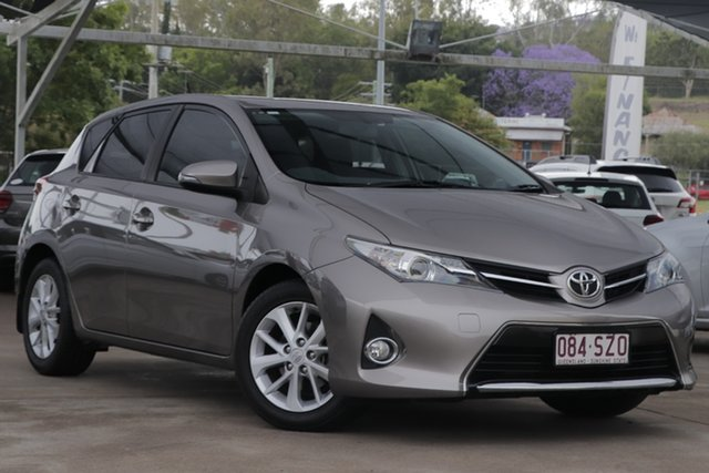 Used Toyota Corolla ZRE182R Ascent Sport S-CVT Bundamba, 2013 Toyota Corolla ZRE182R Ascent Sport S-CVT Grey 7 Speed Constant Variable Hatchback