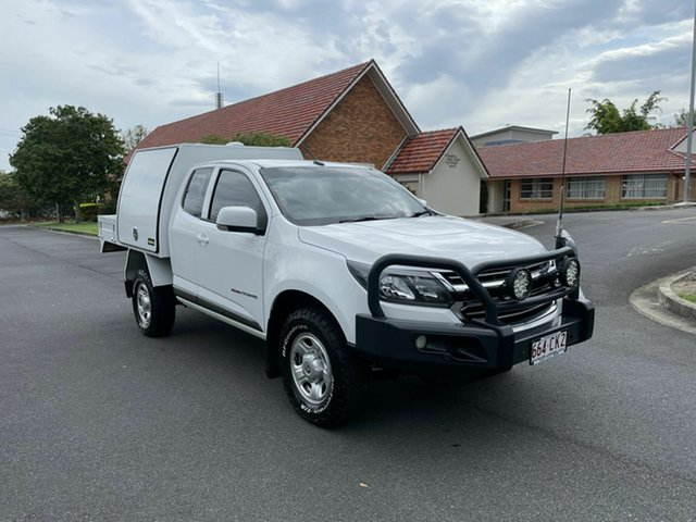Used Holden Colorado RG MY18 LS Chermside, 2017 Holden Colorado RG MY18 LS White 6 Speed Automatic Spacecab