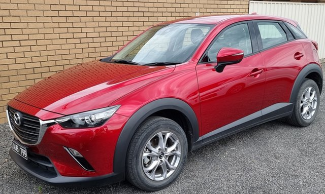 Used Mazda CX-3 DK2W7A Maxx SKYACTIV-Drive FWD Sport Horsham, 2018 Mazda CX-3 DK2W7A Maxx SKYACTIV-Drive FWD Sport Red 6 Speed Sports Automatic Wagon