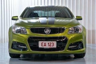 2015 Holden Commodore VF II MY16 SV6 Green 6 Speed Sports Automatic Sedan