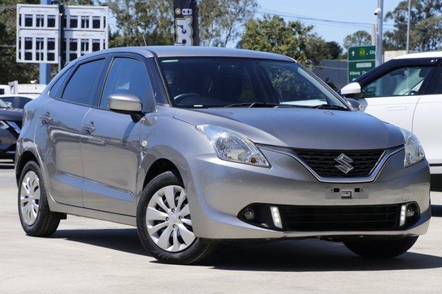 Used Suzuki Baleno EW GL Aspley, 2018 Suzuki Baleno EW GL Silver 4 Speed Automatic Hatchback