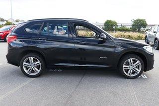 2018 BMW X1 F48 sDrive20i DCT Steptronic Black 7 Speed Sports Automatic Dual Clutch Wagon.