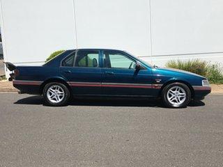 1994 Ford Falcon ED XR6 Green 4 Speed Automatic Sedan.