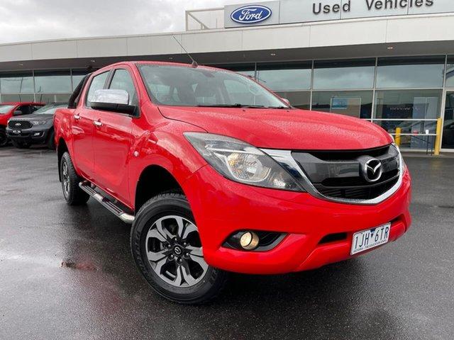 Used Mazda BT-50 UR0YF1 XTR Essendon Fields, 2016 Mazda BT-50 UR0YF1 XTR Red 6 Speed Sports Automatic Utility