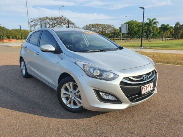 Used Hyundai i30 GD2 MY14 Trophy Townsville, 2014 Hyundai i30 GD2 MY14 Trophy Silver 6 Speed Sports Automatic Hatchback