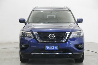 2020 Nissan Pathfinder R52 Series III MY19 ST-L X-tronic 4WD Blue 1 Speed Constant Variable Wagon.