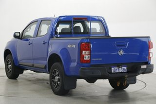2012 Holden Colorado RG MY13 LX Crew Cab Blue 6 Speed Sports Automatic Utility.