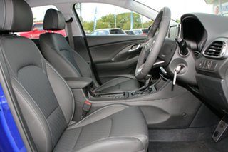 2021 Hyundai i30 PD.V4 MY22 Active Intense Blue 6 Speed Sports Automatic Hatchback