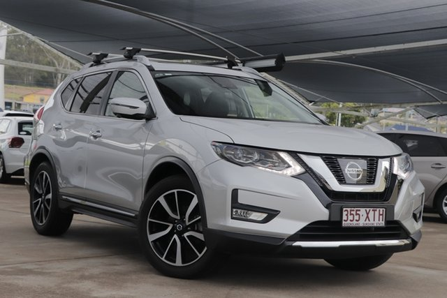 Used Nissan X-Trail T32 Series II Ti X-tronic 4WD Bundamba, 2017 Nissan X-Trail T32 Series II Ti X-tronic 4WD Silver 7 Speed Constant Variable Wagon