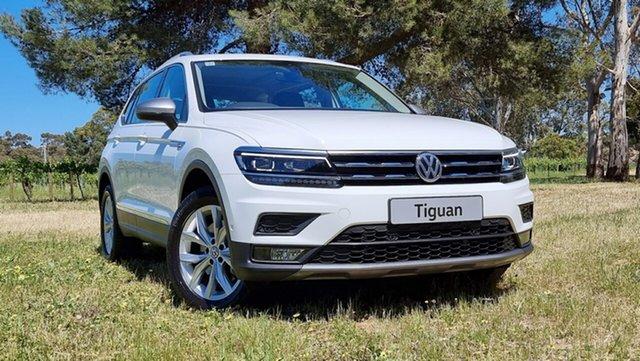 Used Volkswagen Tiguan 5N MY20 132TSI Comfortline DSG 4MOTION Allspace Nuriootpa, 2019 Volkswagen Tiguan 5N MY20 132TSI Comfortline DSG 4MOTION Allspace Pure White 7 Speed