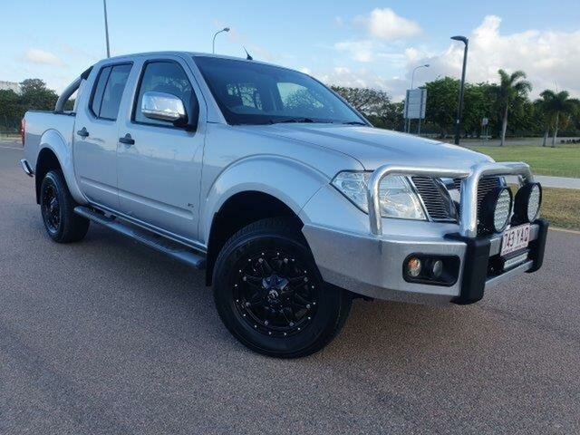 Used Nissan Navara D40 S5 MY12 ST-X Townsville, 2012 Nissan Navara D40 S5 MY12 ST-X Silver 7 Speed Sports Automatic Utility