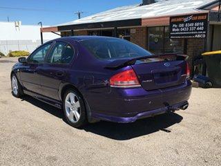 2003 Ford Falcon BA XR6 Purple 4 Speed Sports Automatic Sedan