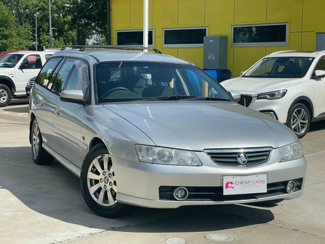 Used Holden Commodore VY II 25th Anniversary Toowoomba, 2004 Holden Commodore VY II 25th Anniversary Silver 4 Speed Automatic Wagon