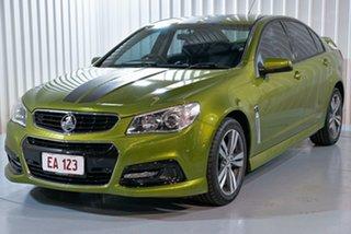 2015 Holden Commodore VF II MY16 SV6 Green 6 Speed Sports Automatic Sedan.