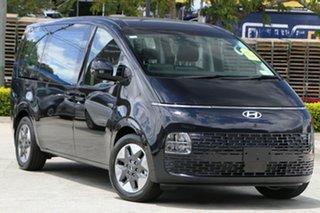 2021 Hyundai Staria US4.V1 MY22 2WD Blue 8 Speed Sports Automatic Wagon.
