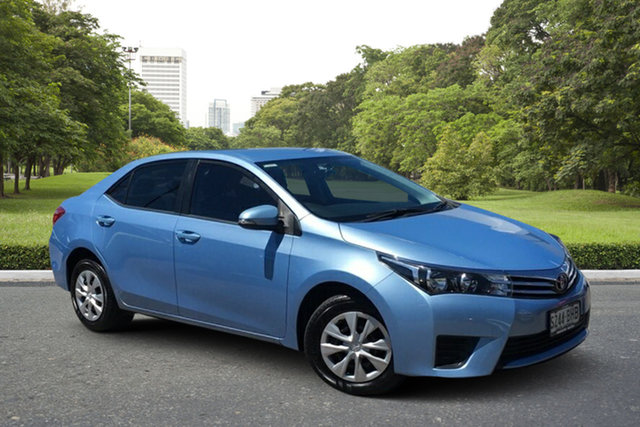 Used Toyota Corolla ZRE172R Ascent Paradise, 2014 Toyota Corolla ZRE172R Ascent Blue 6 Speed Manual Sedan