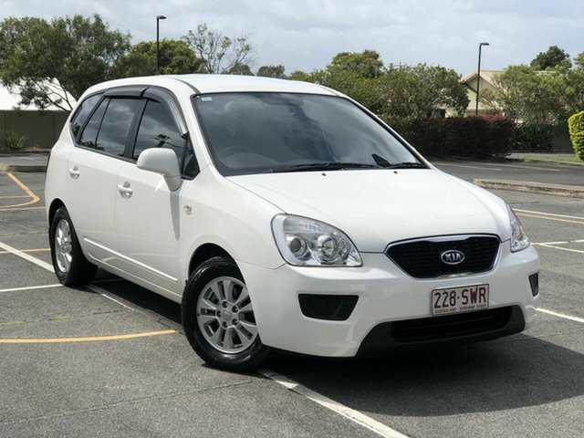 Used Kia Rondo UN MY13 SI Chermside, 2012 Kia Rondo UN MY13 SI White 4 Speed Sports Automatic Wagon