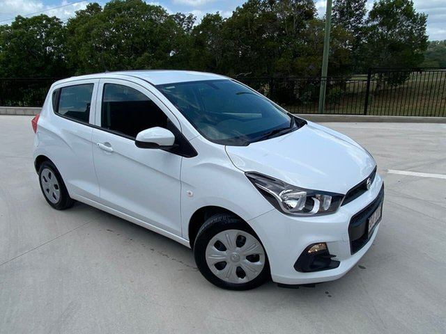 Used Holden Spark MP MY18 LS Cooroy, 2017 Holden Spark MP MY18 LS White 1 Speed Constant Variable Hatchback