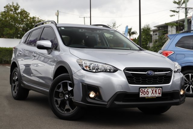 Used Subaru XV G5X MY18 2.0i Premium Lineartronic AWD Mount Gravatt, 2017 Subaru XV G5X MY18 2.0i Premium Lineartronic AWD Ice Silver 7 Speed Constant Variable Wagon