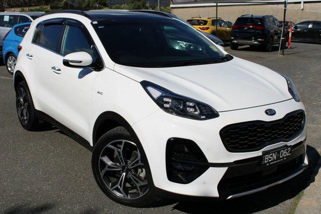 Used Kia Sportage QL MY20 GT-Line AWD Ferntree Gully, 2020 Kia Sportage QL MY20 GT-Line AWD White 8 Speed Sports Automatic Wagon