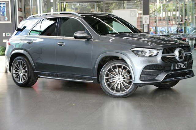 Used Mercedes-Benz GLE-Class V167 GLE300 d 9G-Tronic 4MATIC North Melbourne, 2019 Mercedes-Benz GLE-Class V167 GLE300 d 9G-Tronic 4MATIC Grey 9 Speed Sports Automatic Wagon