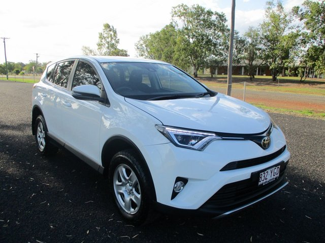 Pre-Owned Toyota RAV4 ZSA42R MY18 GX (2WD) Roma, 2018 Toyota RAV4 ZSA42R MY18 GX (2WD) Glacier White Continuous Variable Wagon