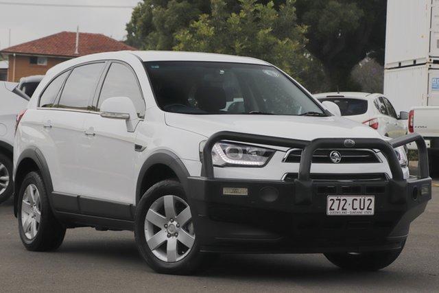 Used Holden Captiva CG MY16 LS 2WD Toowoomba, 2016 Holden Captiva CG MY16 LS 2WD White 6 Speed Sports Automatic Wagon
